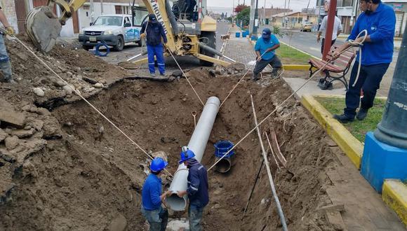 Entre las obras a destrabarse, 10 corresponden a infraestructura vial y equipamiento urbano, que contarán con S/9.729.048 en recursos financieros; y una a trabajos de agua y alcantarillado, a la que se le ha asignado S/38.001. (Foto: GEC/Referencial)