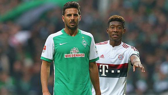 """Claudio Pizarro advierte al Bayern: """"Quiero jugar la final"""""""