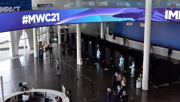 Vista general de la Fira de Barcelona, con los preparativos para la celebración del Mobile World Congress (MWC) 2021, a 20 de mayo de 2021, en Barcelona, Catalunya (España). (Foto:  David Oller/ EuropaPress)