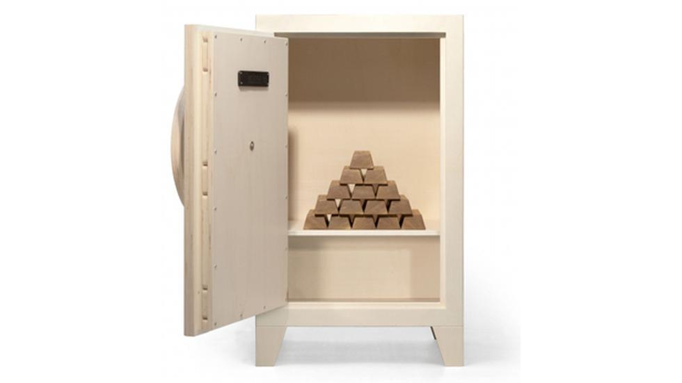 Esta caja fuerte es ideal para decorar cualquier espacio - 2