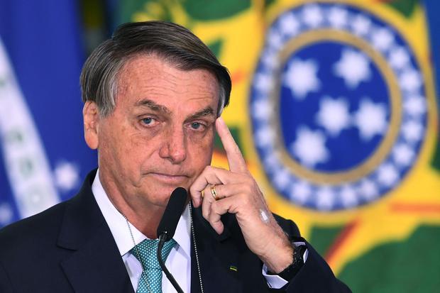 El presidente de Brasil, Jair Bolsonaro. (Foto: AFP)