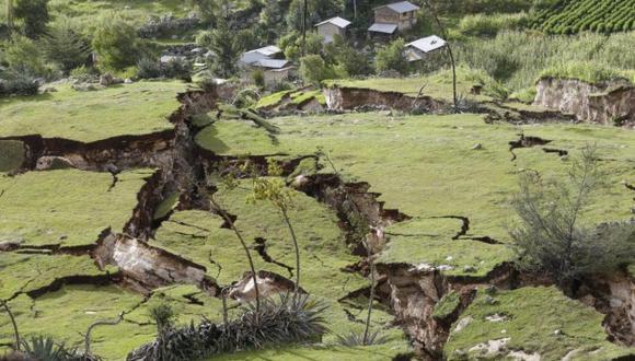 Publican modelo 3D del deslizamiento en comunidad de Cusco   VIDEO