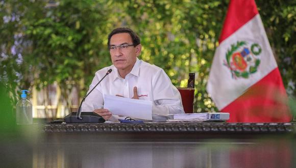 Martín Vizcarra reitera pedido al Congreso para que concluya con reforma política (Foto: Presidencia)