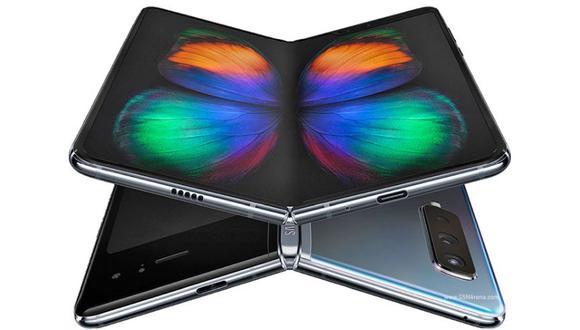 El Galaxy Fold es el primer móvil flexible de Samsung. (Foto: GMSArena)