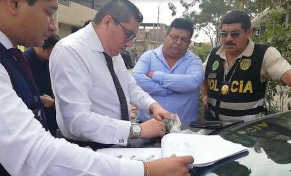 Piura: detienen a abogado acusado de pedir dinero para jueza de Sullana