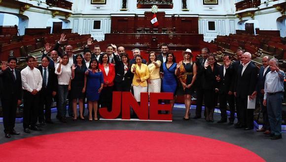 El tercer debate se dio a seis días de las elecciones parlamentarias del 26 de enero. (Foto: Leandro Britto / GEC)