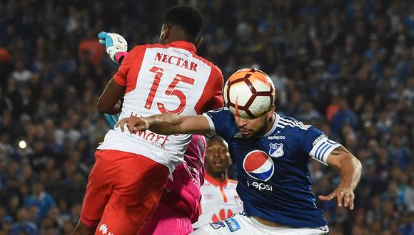 Millonarios juega ante Santa Fe en el Nemesio Camacho El Campín por la jornada 10 de la Liga Águila 2019.