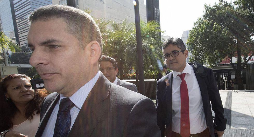 Rafael Vela Barba presentó un oficio que se suma al pedido que hizo el viernes último José Domingo Pérez. (Foto: EFE)