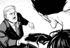 """Donald Trump aparece en el nuevo manga de """"Death Note"""""""