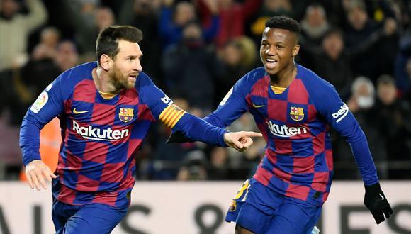 Barcelona vs. Real Betis: Lionel Messi brindó tres asistencias en la victoria de su equipo sobre Real Betis.  (AFP)