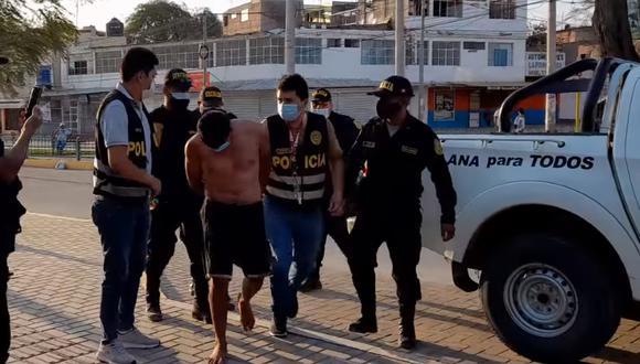Familiares de la víctima solo atinaron a pedir justicia en medio de la consternación por lo sucedido (Foto: PNP)