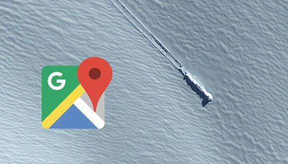 ¿Qué es? Muchos aseguraron que es un ovni, otros de un cohete. Esta es la verdadera historia detrás de la imagen de Google Maps.