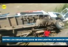 Cajamarca: volcadura de camión deja 4 muertos y 3 desaparecidos | VIDEO