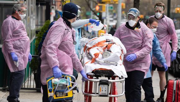 Coronavirus en New York   Ultimas noticias   Último minuto: reporte de infectados y muertos martes 21 de abril del 2020   Covid-19   (Foto: David Dee Delgado/Getty Images/AFP).