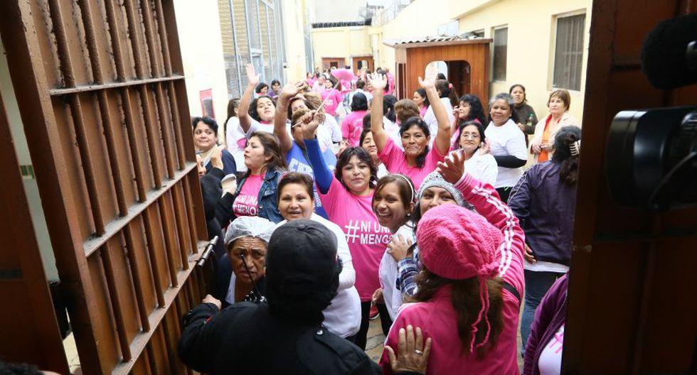 #NiUnaMenos: la emotiva manifestación de presas de Santa Mónica - 19