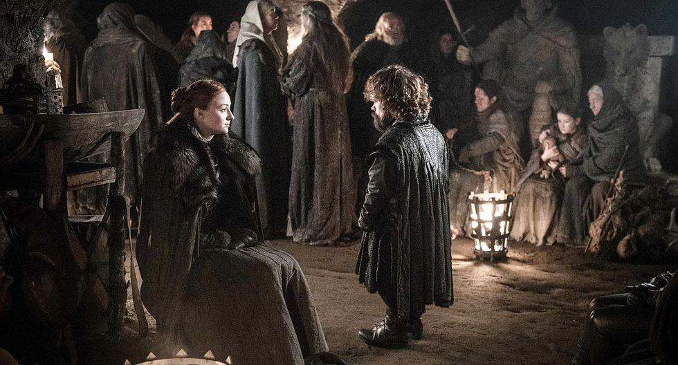 """""""Game of Thrones"""": Tyrion y Sansa unen fuerzas en escena eliminada de la octava temporada de la serie. (Foto: HBO)"""