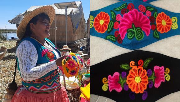 Flor del Lago, liderado por la maestra artesana Rita Suaña, ha decidido salir adelante promocionando sus productos por primera vez a través de Internet.