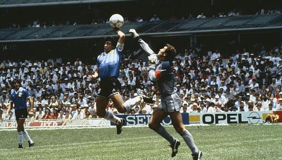 """Jorge Valdano sobre la 'Mano de Dios': """"Había trabajado en la jugada en el entrenamiento"""". (Foto: Bob Thomas Sports)"""
