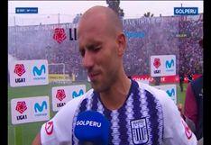 Alianza Lima vs. Sport Huancayo: Federico Rodríguez se quebró tras triunfo de los íntimos por 3-1