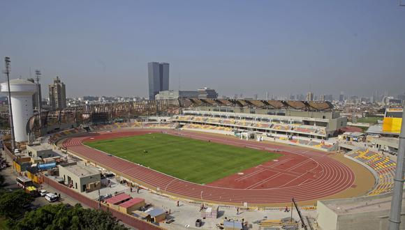 El Estadio de Atletismo que fue construido en la Videna. El campo central podría convertirse en uno de fútbol. (Foto: Lima 2019)
