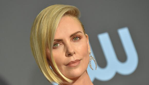 Mandatory Credit: Photo by AFF-USA/REX/Shutterstock (10056005i) Charlize Theron 24th Annual Critics' Choice Awards, Arrivals, Barker Hanger, Los Angeles, USA - 13 Jan 2019