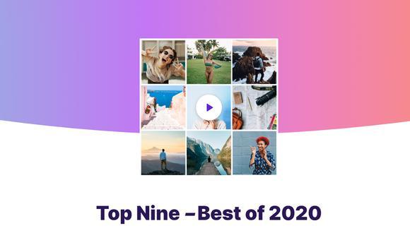 ¡Ya puedes crear tu Top Nine 2020 en Instagram! Aquí te enseñamos cómo hacerlo. (Foto: Top Nine)