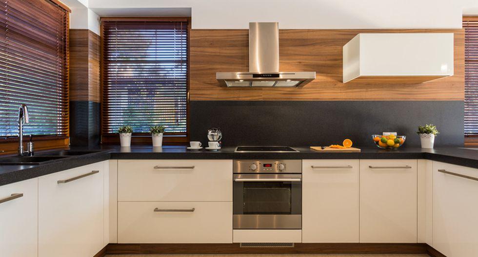 Guarda los electrodomésticos.  Si el lugar es muy pequeño, debes guardarlos cada vez que termines de usarlos para no cargar mucho el ambiente. (Foto: Shutterstock)