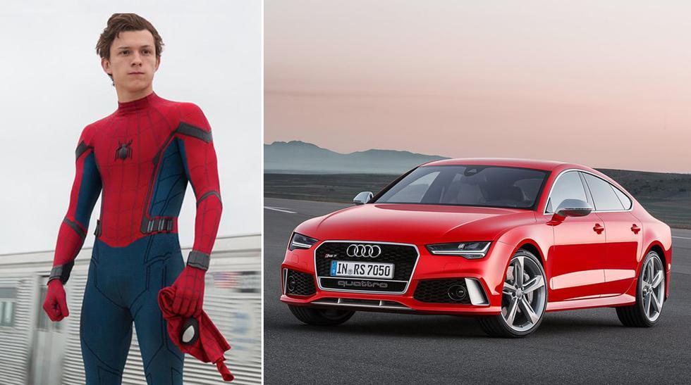 Spider Man: Este es el Audi RS7 de Tom Holland