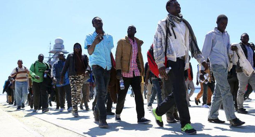 ¿Cómo viven los inmigrantes rescatados en el Mediterráneo?
