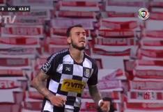 El gol definiendo sobre el portero de Gustavo Dulanto con Boavista ante Benfica | VIDEO