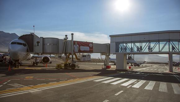 Las aerolíneas Sky Airlines, Viva Air, y Latam Airlines ofrecerán tres vuelos diarios en el terminal aéreo de Arequipa. (Foto: GEC)