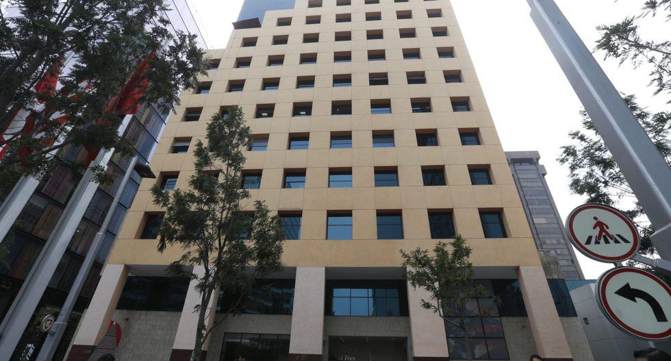 Las oficinas de la Confiep se ubican en el distrito de San Isidro. (Foto: Violeta Ayasta)