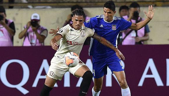 Jonathan Dos Santos registra 7 goles con camiseta de Universitario de Deportes. (Foto: AFP)