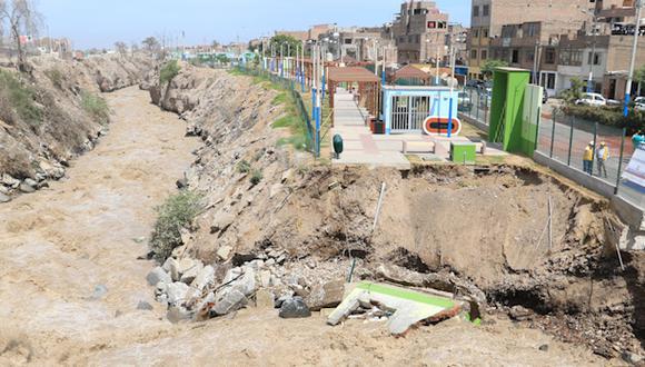 Río Rímac: no hay fecha para recuperación de pista afectada