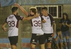 Lanús empató 1-1 frente a Argentinos Juniors por la Superliga argentina