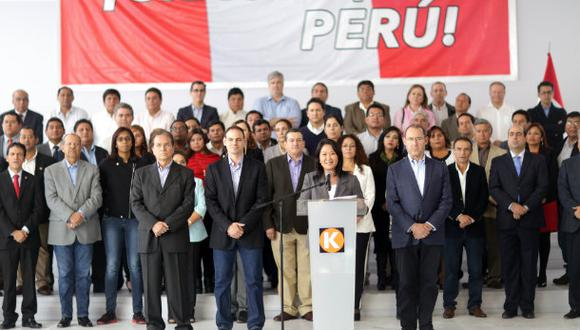 El fiscal José Domingo Pérez solicitó a suspensión por dos años de la agrupación política, Fuerza Popular, liderada por Keiko Fujimori. (Foto: Archivo El Comercio)