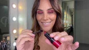 Cómo realizar un maquillaje completo usando un solo labial