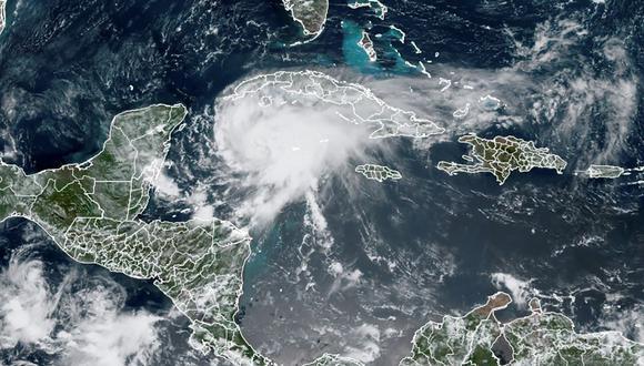 México: Costa este de Yucatán bajo alerta de huracán por el paso de Grace. (AFP).