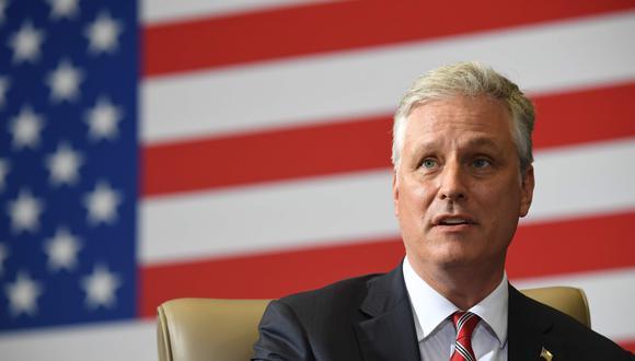 Robert O'Brien, asesor de seguridad nacional del presidente Donald Trump. (Foto: AFP)