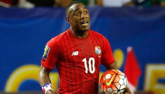 Luis Tejada, experimentado atacante centroamericano que milita en Sport Boys, lidera la lista primaria de la selección de Panamá con miras a Rusia 2018. (Foto: AFP)