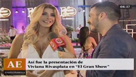 """""""El gran show"""" juntará a Gisela, Roberto y Viviana Rivas Plata?"""