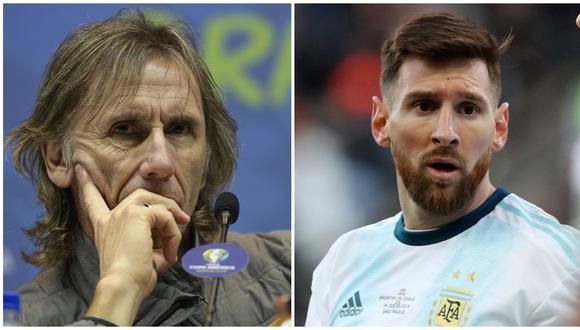 Para hablar de corrupción hay que tener pruebas, dice DT Perú tras acusaciones de Messi. (Foto: AFP)
