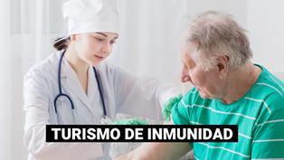 Estados Unidos: cada vez son más los turistas mayores de 65 años que viajan para recibir la vacuna