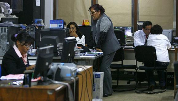 El traslado de los trabajadores CAS a la planilla del Estado demandará un gasto anual de S/2.