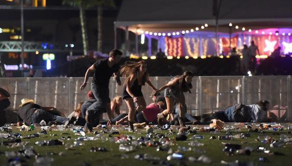 Hotel de la masacre de Las Vegas, Estados Unidos, demanda a víctimas y niega responsabilidad. (Foto: AFP)