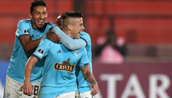 'Titi' Ortiz marcó doblete en Chile con golazos en duelo entre Cristal y Española por Sudamericana   VIDEO. (Foto: AFP)