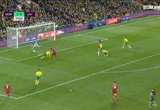 Liverpool vs. Norwich City: Sadio Mané anotó el 1-0 a los 78′ tras un zurdazo en el área  | VIDEO