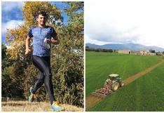 Pau Llorens, el corredor de España que hizo su propia pista de atletismo a falta de una en donde entrenar