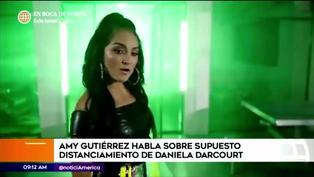 Amy Gutiérrez responde sobre supuesto distanciamiento con Daniela Darcourt