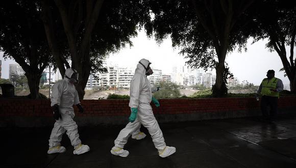Según cifras del Minsa, hay 580 personas con coronavirus (COVID-19) en el Perú. (Joel Alonzo / GEC)